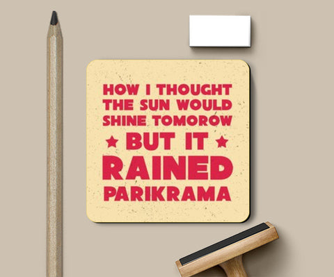Coasters, But It Rained Coasters | Artist : Parikrama Officials, - PosterGully