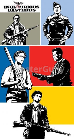 PosterGully Specials, Inglorious Basterds | Pop Art, - PosterGully