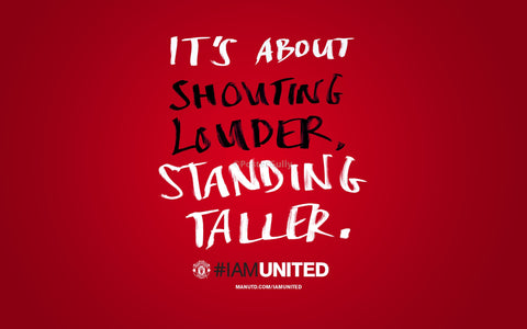PosterGully Specials, Manchester United | Standing Taller, - PosterGully