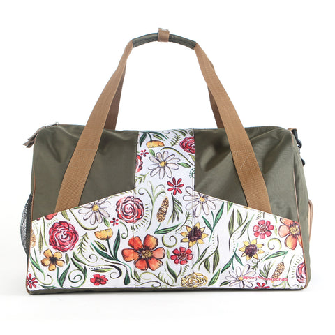 Romantic Vintage Duffle Bag