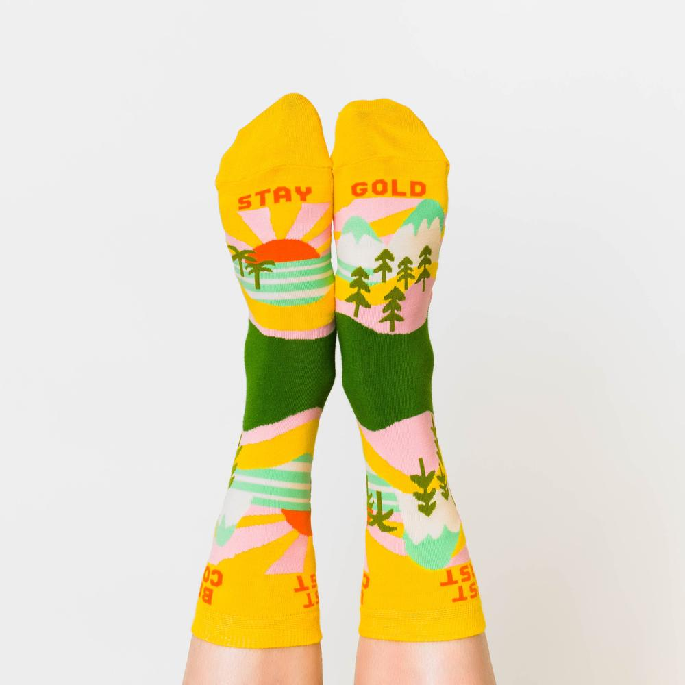 Yellow Owl Workshop: Best Coast Socks