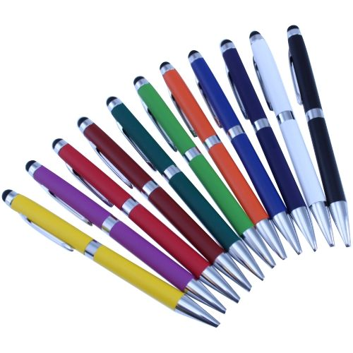 Arc Metal Twist Stylus Pen - Promotional Products