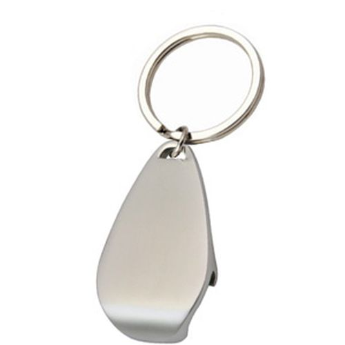 Arc Oval Bottle Opener Keyring - Promotional Products