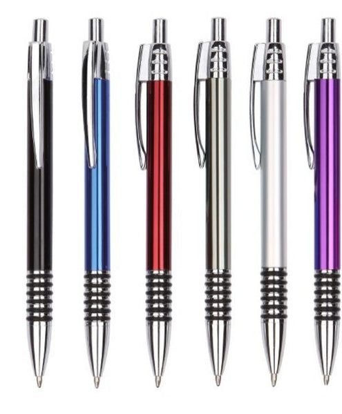 Arc Rubber Grip Metal Pen - Promotional Products