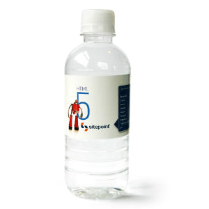 Econo 350ml Natural Spring Water - Promotional Products