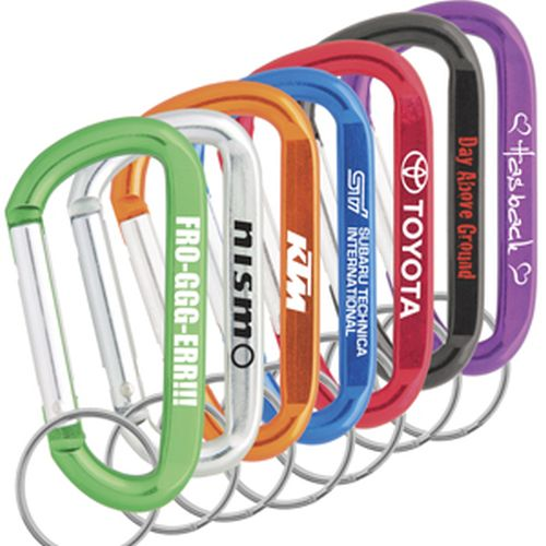 Econo Carabineer Keyring - Promotional Products