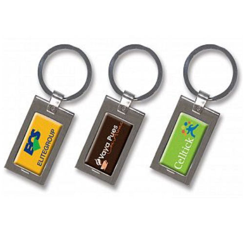 Eden Metal Dome Keyring - Promotional Products