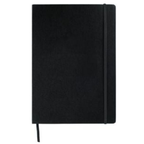 Avalon Large Notepad With Elastic Closure - Promotional Products