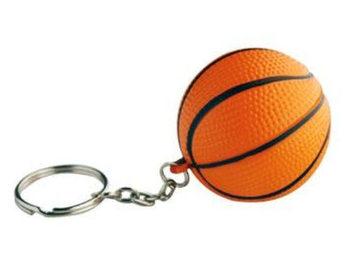 Promotional Stress Basketball Keyring - Promotional Products
