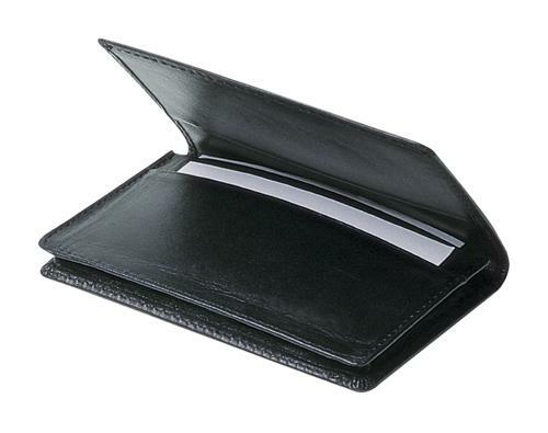 Avalon Flip Open Business Card Holder - Promotional Products