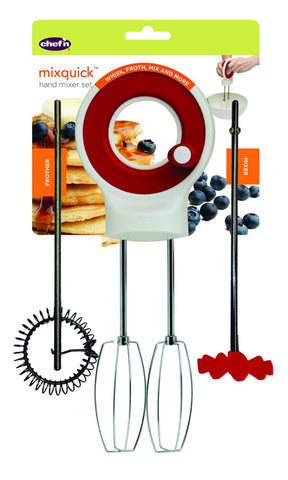 Chef'n Mixquick Hand Mixer Set