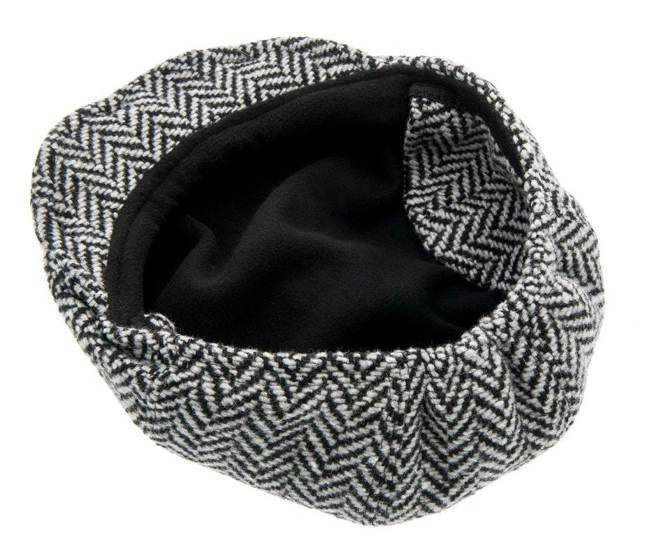 Kids Newsboy cap - Theodor Jr. Greyling Black - CTH MINI