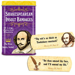 Shakespearean Insults Bandages