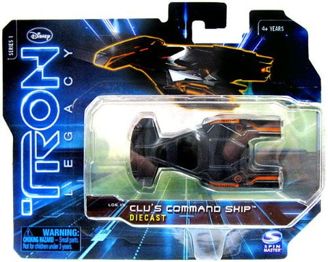 Tron Legacy Series 1 Die Cast Vehicle Clus Command Ship