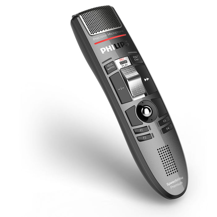 Philips LFH3510 SpeechMike Premium with SpeechExec Pro Dictate v10 Software - Speech Products