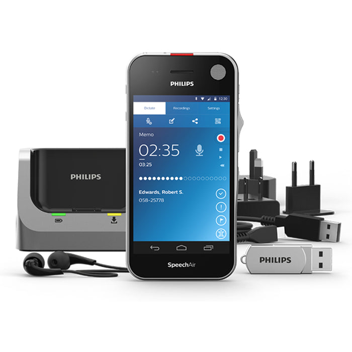Philips SpeechAir Smart Voice Recorder (PSP1200) - Speech Products
