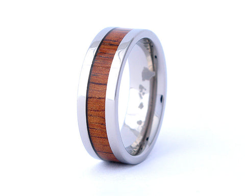 The Classic - Hawaiian Koa Wood Ring