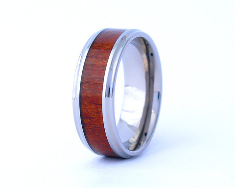 The Cove - Hawaiian Koa Wood Ring