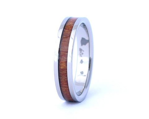 The Thin - Hawaiian Koa Wood Ring