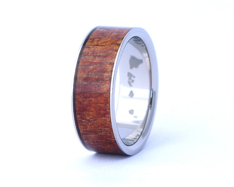 The Wide - Hawaiian Koa Wood Ring
