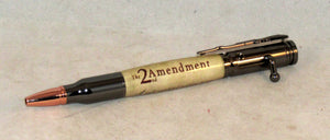 2nd Amendment on Bolt Action Pen