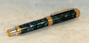 Jr. Emperor Fountain Pen with Natural Abalone Shell