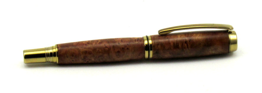 Jr. Gent II Rollerball Pen with Chocolate Coolibah Burl