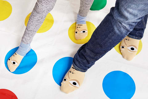 Matching sock sets with cool characters