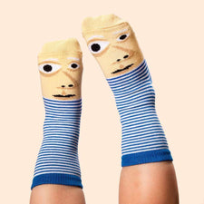 Art socks for kids - Feetasso character illustration