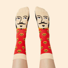Cool socks for theatre lovers - William Shakes-Feet