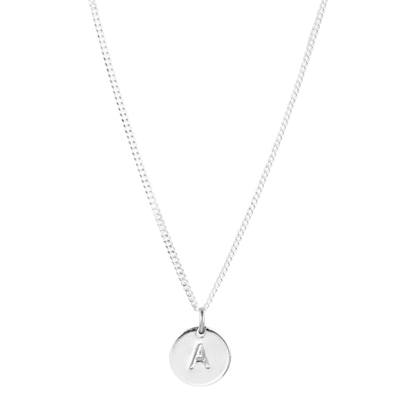 Rock Finders Keepers | Charlotte Initial Necklace | Silver | VOULT.COM.AU
