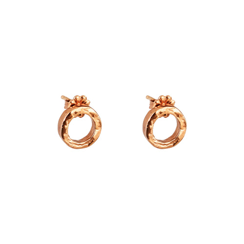 Rock Finders Keepers | Phoenix Fine Stud Earrings | Rose | VOULT.COM.AU