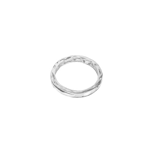 Rock Finders Keepers | Phoenix Hammered Ring | Silver | VOULT.COM.AU