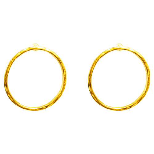 Rock Finders Keepers | Phoenix Large Stud Earrings - Gold | VOULT.COM.AU