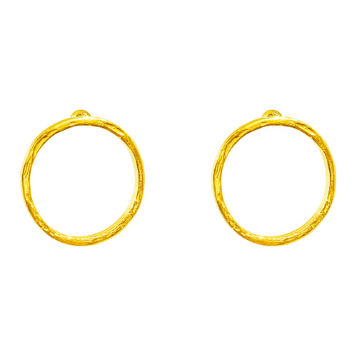 Rock Finders Keepers | Phoenix Medium Stud Earrings - Gold | VOULT.COM.AU