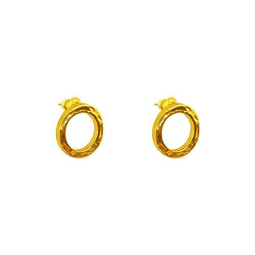 Rock Finders Keepers | Phoenix Stud Earrings | Gold | VOULT.COM.AU