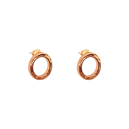 Rock Finders Keepers | Phoenix Stud Earrings | Rose | VOULT.COM.AU