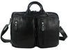 Multi-Function Full Grain Genuine Leather Travel Bag