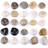 Natural River Rune Stones - SweetWitch