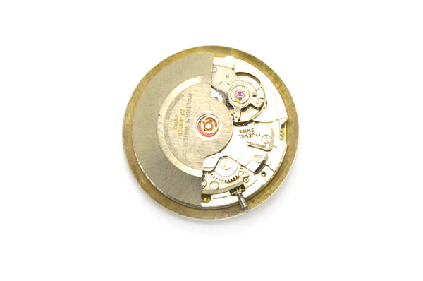 Vintage Waltham Watch Co. 25 Jewel Self-Winding Incabloc 25 Watch Movement AS IS