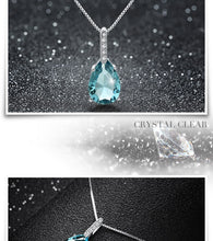 Load image into Gallery viewer, Blue Zircon Pendant