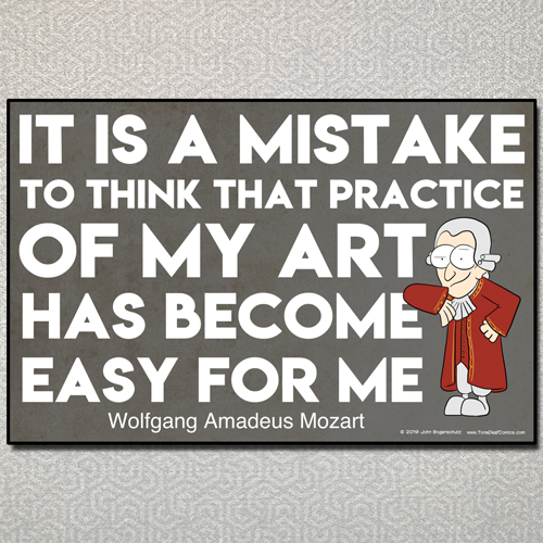 Mozart Quote