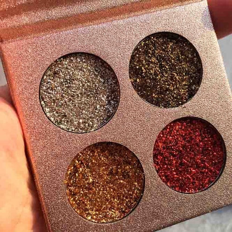Image of Pressed Glitter Eyeshadow Palette - Secret Beauties
