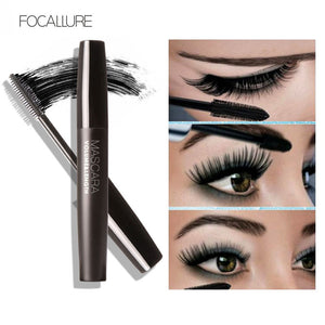 Focallure Max Volume Mascara Black Water-proof Curling And Thick Eye Eyelashes Makeup kit set - Secret Beauties