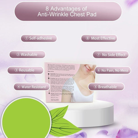 ANTI-WRINKLE SILICONE CHEST PADS - Secret Beauties