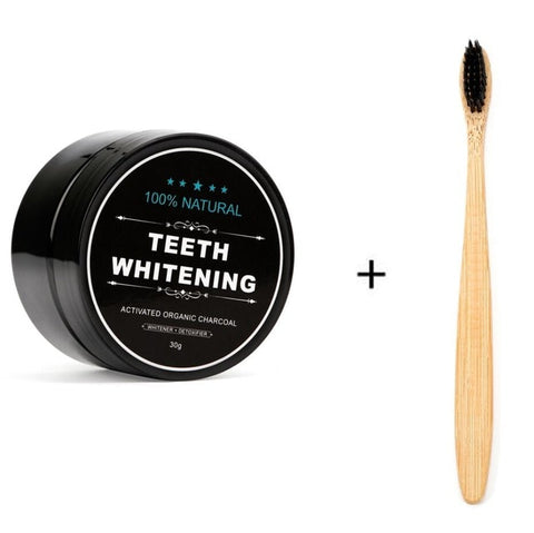 Teeth Whitening Kit with Toothbrush - Secret Beauties