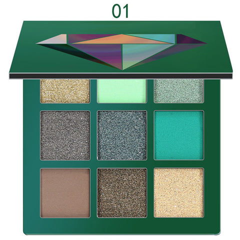 Image of Glitter Matte Eyeshadow Pallete - Secret Beauties