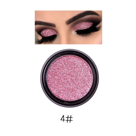 PHOERA Highly Pigmented Loose Shimmering Metallic Glitter Eyeshadow Powder - Secret Beauties