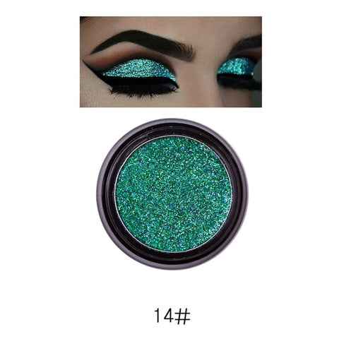 Image of PHOERA Highly Pigmented Loose Shimmering Metallic Glitter Eyeshadow Powder - Secret Beauties