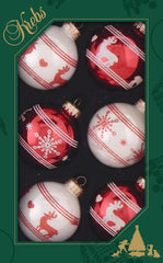 Decorated Wholesale Glass Ornaments